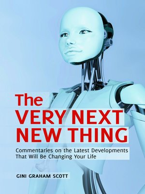 cover image of The Very Next New Thing