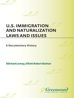 cover image of U.S. Immigration and Naturalization Laws and Issues
