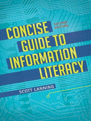 cover image of Concise Guide to Information Literacy