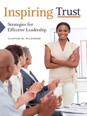 cover image of Inspiring Trust