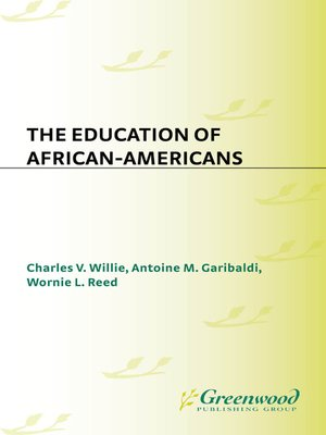 cover image of The Education of African-Americans