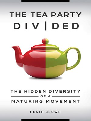 cover image of The Tea Party Divided