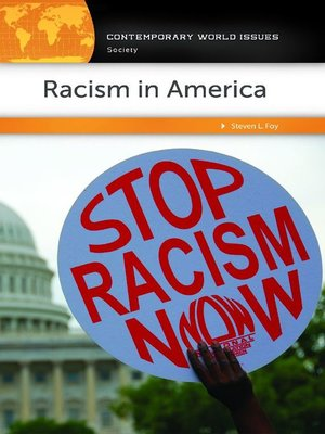 cover image of Racism in America