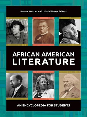 cover image of African American Literature
