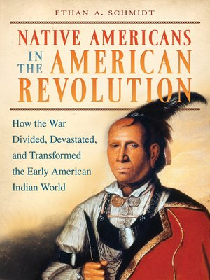 cover image of Native Americans in the American Revolution