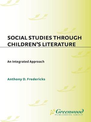 cover image of Social Studies Through Children's Literature