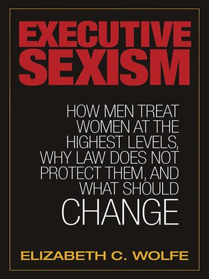 cover image of Executive Sexism