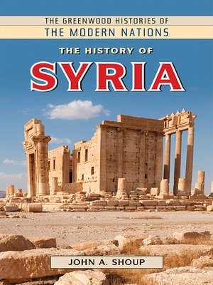 cover image of The History of Syria