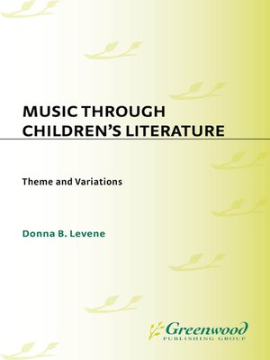 cover image of Music through Children's Literature