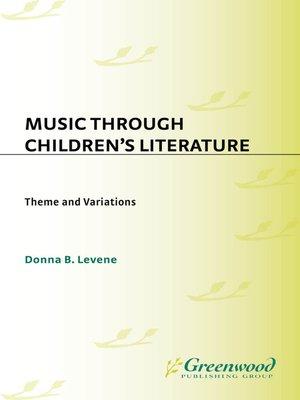 cover image of Music through Children's Literature