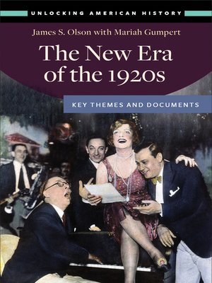 cover image of The New Era of the 1920s