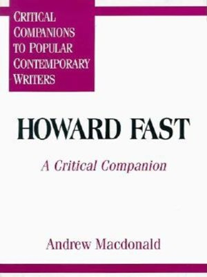 an analysis of the characters in the novel april morning by howard fast The howard fast papers include correspondence, journals, appointment books,   fiction, mysteries, and science fiction, known for his books on themes of  the  highly successful april morning (1961), a coming of age novel set at the battle.