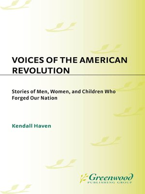 cover image of Voices of the American Revolution