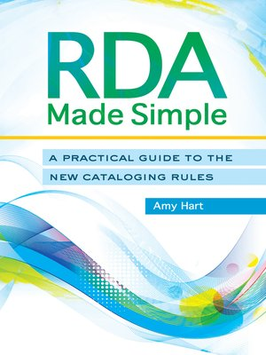 cover image of RDA Made Simple