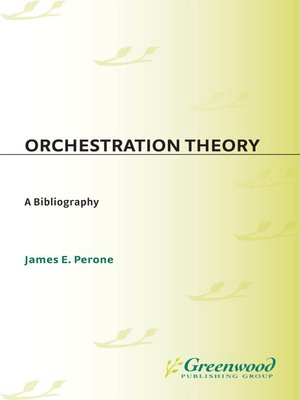 cover image of Orchestration Theory