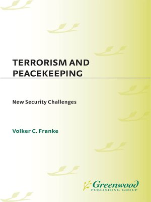 cover image of Terrorism and Peacekeeping