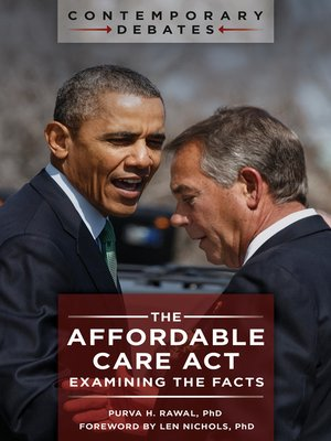 cover image of The Affordable Care Act