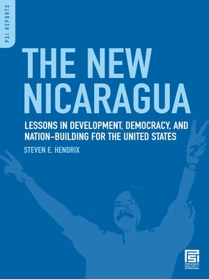 cover image of The New Nicaragua