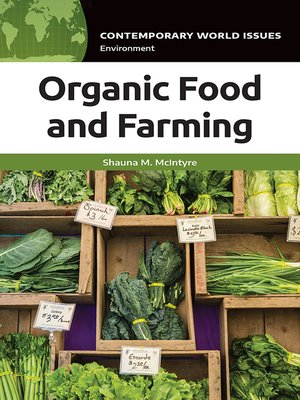 cover image of Organic Food and Farming
