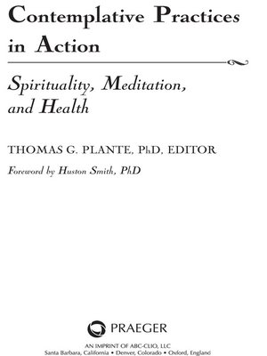 cover image of Contemplative Practices in Action
