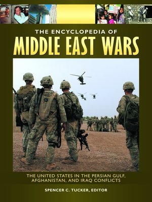 cover image of The Encyclopedia of Middle East Wars