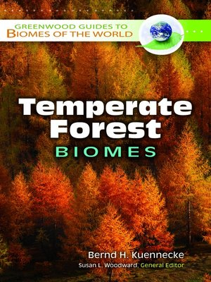 cover image of Temperate Forest Biomes