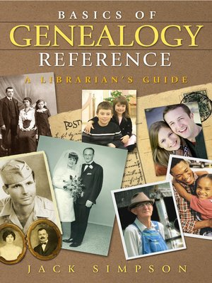 cover image of Basics of Genealogy Reference