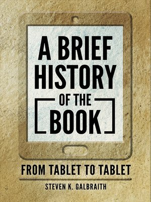 cover image of A Brief History of the Book