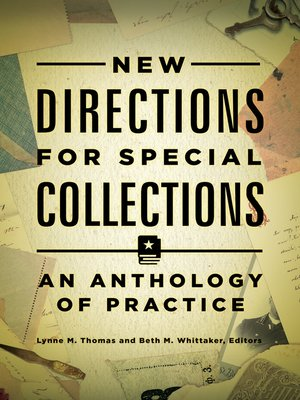 cover image of New Directions for Special Collections