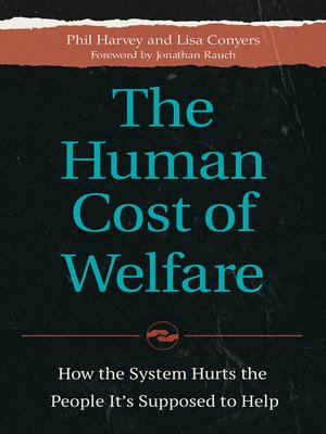 cover image of The Human Cost of Welfare