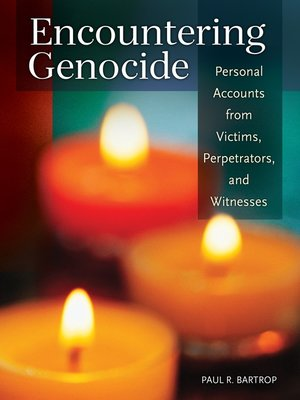 cover image of Encountering Genocide
