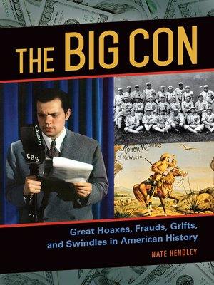 cover image of The Big Con