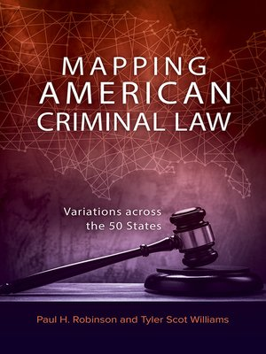 cover image of Mapping American Criminal Law