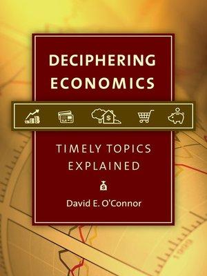 cover image of Deciphering Economics