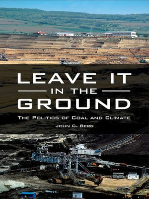 cover image of Leave It in the Ground