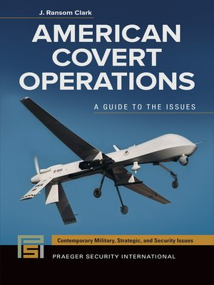 cover image of American Covert Operations