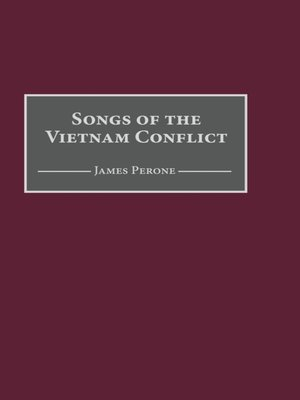 cover image of Songs of the Vietnam Conflict