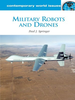 cover image of Military Robots and Drones