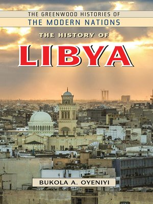 cover image of The History of Libya