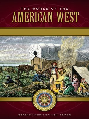 cover image of The World of the American West