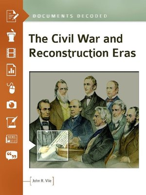 cover image of The Civil War and Reconstruction Eras