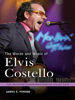 cover image of The Words and Music of Elvis Costello