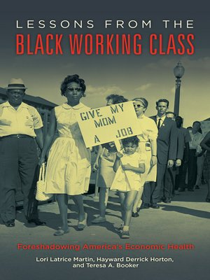 cover image of Lessons from the Black Working Class