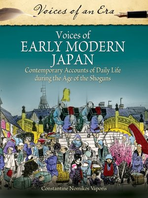 cover image of Voices of Early Modern Japan