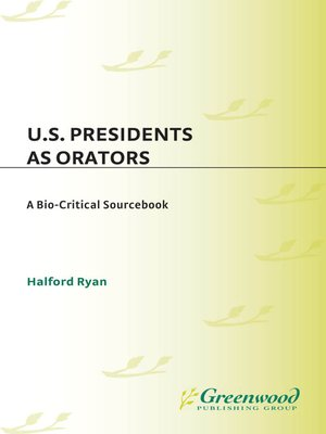 cover image of U.S. Presidents as Orators