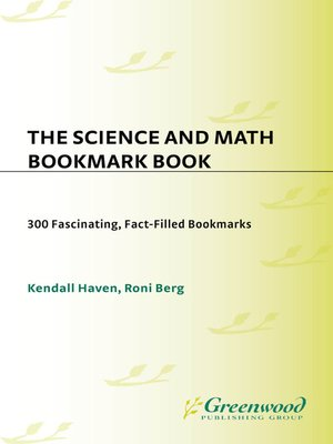 cover image of Science and Math Bookmark Book
