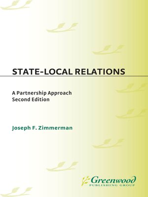 cover image of State-Local Relations