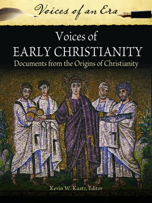 cover image of Voices of Early Christianity
