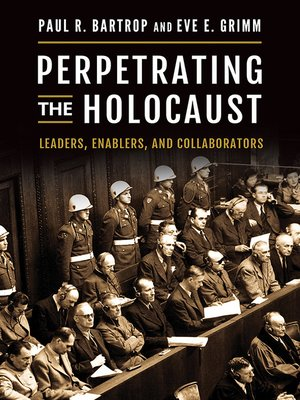 cover image of Perpetrating the Holocaust