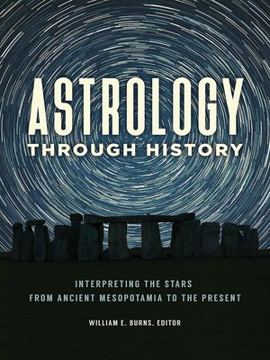 cover image of Astrology through History
